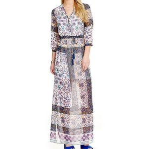 Chelsea & Violet Pattern Maxi Dress